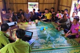 VQG Phong Nha - Kẻ Bàng tăng cường công tác tuyên truyền bảo vệ rừng năm 2020 cho người dân vùng đệm VQG Phong Nha - Kẻ Bàng